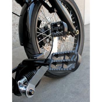 Joker Machine Serrated Brake Pedal Cover for Harley