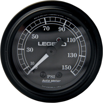 Legend Fairing Mounted LED Backlit PSI Gauges