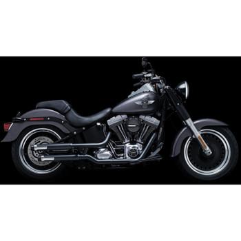 """Crusher 2.5"""" Maverick Slip-On Exhaust Mufflers for Harley Softail"""