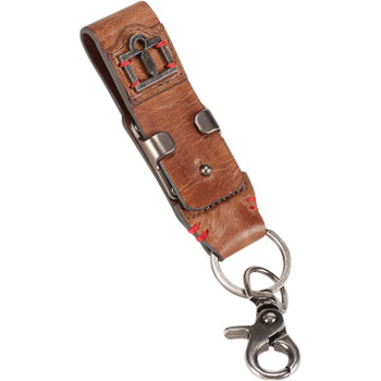 Icon 1000 Leather Belt Loop Keychain