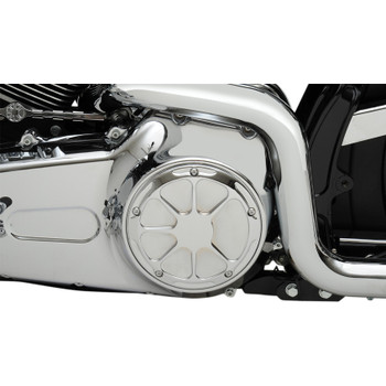 LA Choppers Fusion Derby for 1999-2018 Harley Big Twin - Chrome