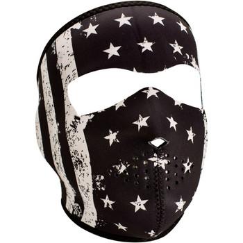 Zan Headgear Black and White Vintage Flag Face Mask