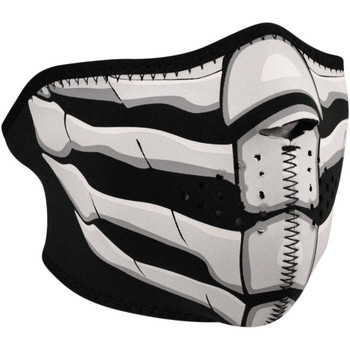 Zan Headgear Bone Breath Glow in the Dark Half Face Mask
