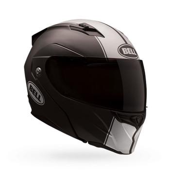 Bell Revolver Evo Matte Black/White Helmet