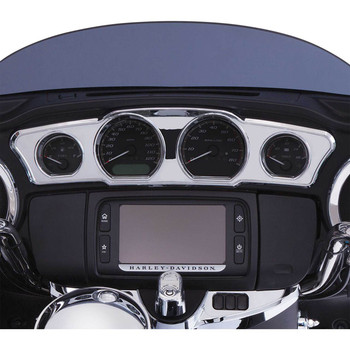 Ciro Chrome Dash Accent for 2014-2016 Harley Touring