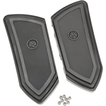 Performance Machine F.T.Z. Passenger Floorboards for Harley