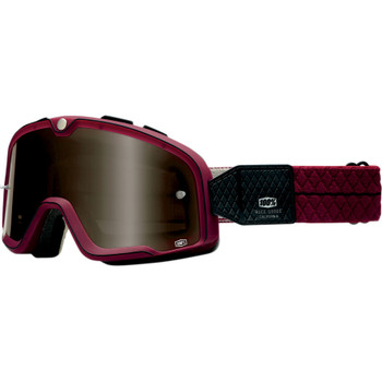100% Barstow Legend Goggles - Burgandy