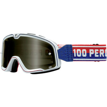 100% Barstow Classic Goggles -  White