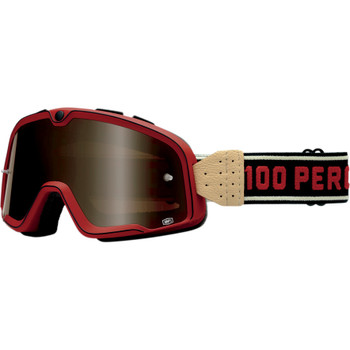 100% Barstow Classic Goggles -  Red