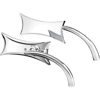 Arlen Ness Four Point Micro Mirrors - Chrome