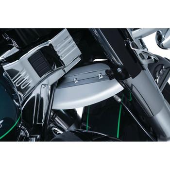 Kuryakyn Lower Triple Tree Wind Deflector for 1980-2016 Harley Touring - Chrome