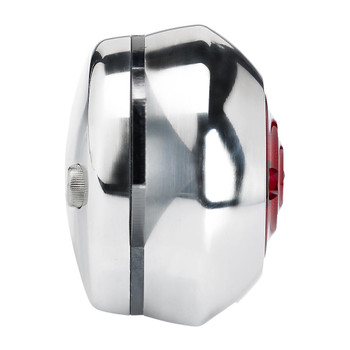 Biltwell Smooth Tail Light Backing Plate - Polished