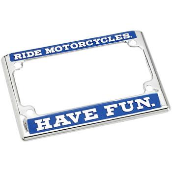 Biltwell RMHV License Plate Frame