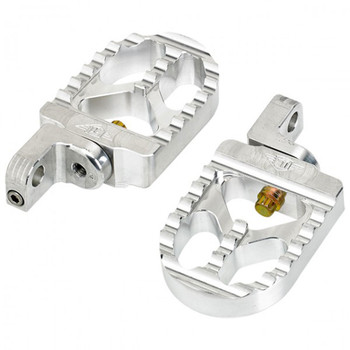 Joker Machine Serrated Short Foot Pegs for Harley Sportster Forty-Eight
