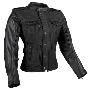 Speed and Strength Six Speed Sisters™ Women's Leather-Textile Jacket