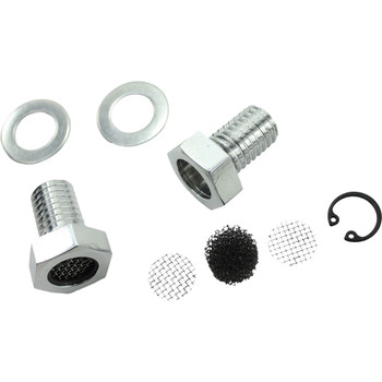 TC Bros. Breather Bolts for Harley