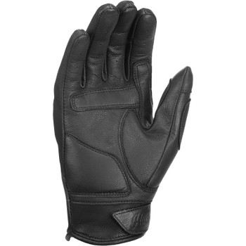 Black HIGHWAY 21 Ladies VIXEN Touchscreen Leather Riding Gloves Choose Size