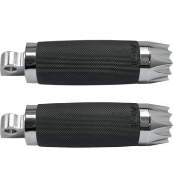 Avon Custom Contour Excalibur Foot Pegs for Harley - Chrome