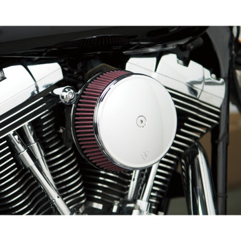 Arlen Ness Big Sucker Air Cleaner Kit for 2008-2017 Harley Big Twin* - Chrome