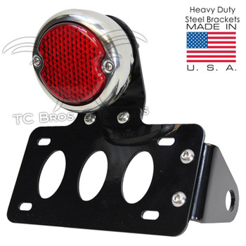 TC Bros. 33 Ford LED Side Mount Tail Light/License Plate Bracket