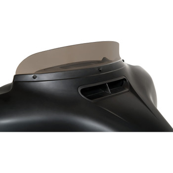 """Memphis Shades 3"""" Spoiler Windshield for 2014-2020 Harley Touring - Smoke"""