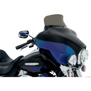 """Memphis Shades 5"""" Spoiler Windshield for 1996-2013 Harley Touring - Smoke"""