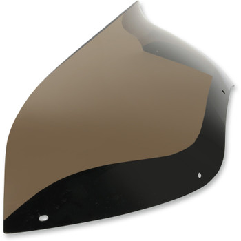"""Memphis Shades 5.5"""" Spoiler Windshield for 1998-2013 Harley Road Glide - Smoke"""