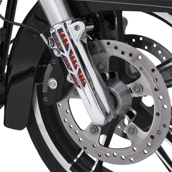 Ciro Forkini Lighted Lower Leg Covers for 2014-2016 Harley Touring