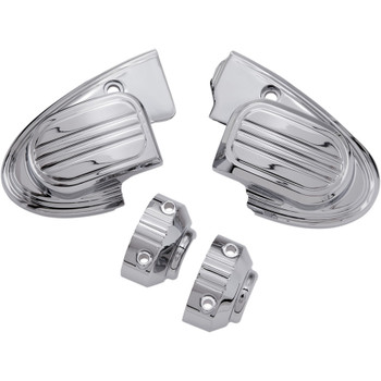 Ciro Master Cylinder Assembly Covers for 2014-2016 Harley Touring