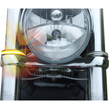 Custom Dynamics LED Wrap-Around Turn Signals for Harley