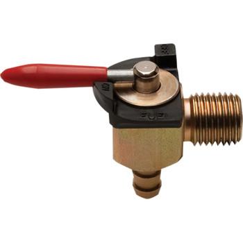 """Motion Pro 1/4"""" NPT 90° Outlet Fuel Valve"""