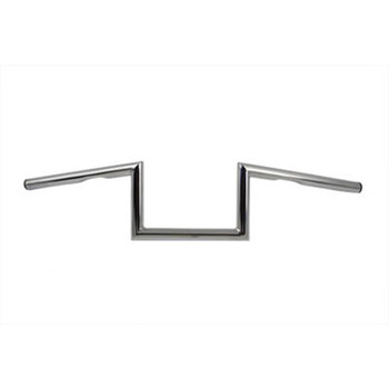 "V-Twin 1"" Chrome 6"" Z-Bars Handlebars"