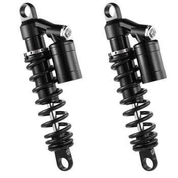 RacingBros HD HLR Remote Reservoir Shocks for Harley Sportster and FXR