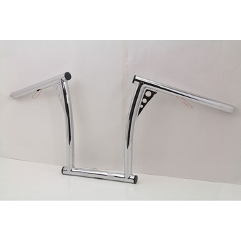 "V-Twin 1"" Chrome 12"" Vintage Handlebars"