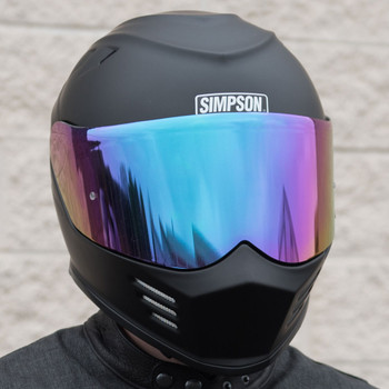 Simpson Ghost Bandit Iridium Face Shield