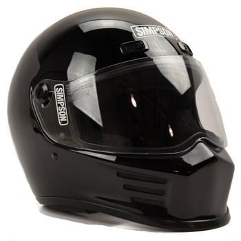 Simpson Street Bandit Helmet - Gloss Black