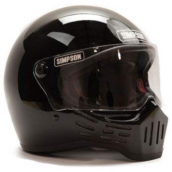 Simpson M30 Helmet - Gloss Black