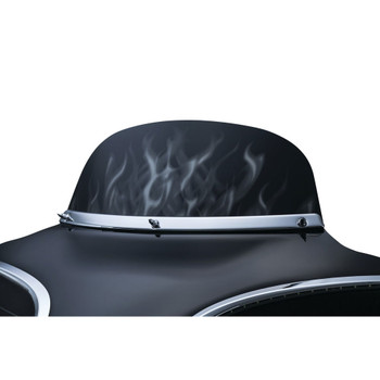 Kuryakyn Flame Airmaster Windshield for 1996-2016 Harley Touring