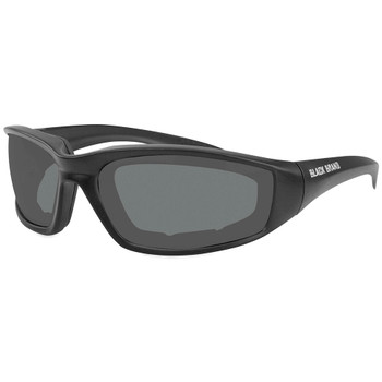 Black Brand Clutch Sunglasses