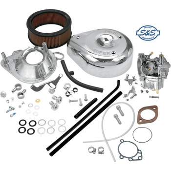 S&S Super E Carburetor Kit for Harley Big Twin