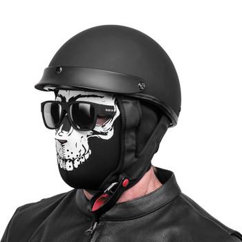 Black Brand Skull Neoprene Full-Face Mask