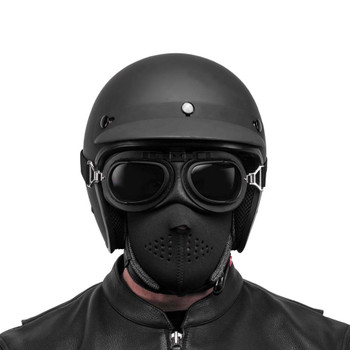 Black Brand Neoprene Half-Face Mask