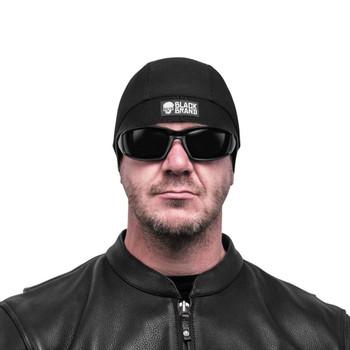 Black Brand Moisture Transfer Helmet Liner