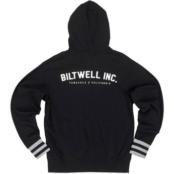 Biltwell Basic Black Zip Hoodie