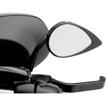 Drag Specialties Short-Stem Teardrop Mirror