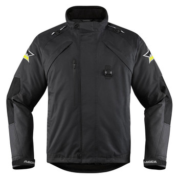Icon Raiden DKR Monochromatic Waterproof Jacket
