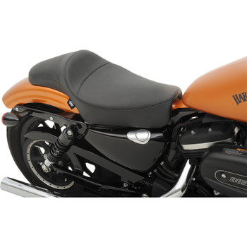Drag Specialties Extended Reach Predator Seat for 2004-2020 Harley Sportster - Smooth