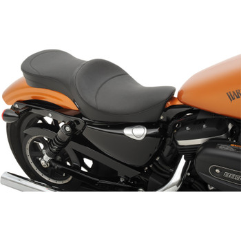 Drag Specialties Low-Profile Double Bucket Seat for 2010-2020 Harley Sportster - Smooth