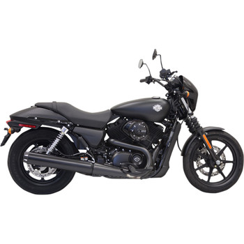 "Bassani 4"" Straight Cut Long Black Slip-On Muffler for 2015-2020  XG Street"