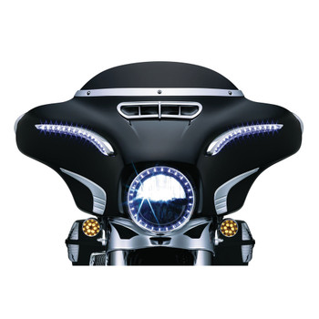 Kuryakyn Tri-Line Fairing Accents for 2014-2016 Harley Touring